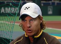 18-2-07,Netherlands, Roterdam, Tennis, ABNAMROWTT, Lleyton Hewitt in Ahoy