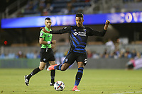 San Jose, CA - Wednesday June 28, 2017: Danny Hoesen during a U.S. Open Cup Round of 16 match between the San Jose Earthquakes and the Seattle Sounders FC at Avaya Stadium.
