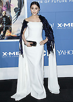 """NEW YORK CITY, NY, USA - MAY 10: Fan Bingbing at the World Premiere Of Twentieth Century Fox's """"X-Men: Days Of Future Past"""" held at the Jacob Javits Center on May 10, 2014 in New York City, New York, United States. (Photo by Jeffery Duran/Celebrity Monitor)"""