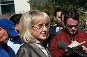 AJ ALEXANDER/AAP - Governor Jan Brewer(cq) and Attorney General Tom Horne(cq) File a countersue on Arizona Immigration law against the Federal Goverment at the Federal Court In Phoenix. On Thursday Feb 10, 2011..Photo by AJ ALEXANDER