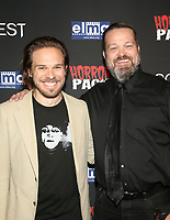 HOLLYWOOD, CA - OCTOBER 12: Stephen Steelman, Bucky Sinister, at the 21st Screamfest Opening Night Screening Of The Retaliators at Mann Chinese 6 Theatre in Hollywood, California on October 12, 2021. Credit: Faye Sadou/MediaPunch