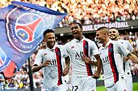 celebration des joueurs du PSG apres le goal de NEYMAR JR (PSG) Marco Verratti <br /> 14/09/2019<br /> Paris Saint Germain PSG - Strasbourg <br /> Calcio Ligue 1 2019/2020 <br /> Foto JB Autissier Panoramic/insidefoto <br /> ITALY ONLY