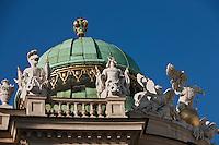Europe/Autriche/Niederösterreich/Vienne: Dôme de la La Michaelertrakt - Palais de La Hofburg - Centre Historique, Patrimoine mondial UNESCO