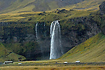 Seljalandsfoss waterfall, south coast of Iceland. (Bob Gathany)