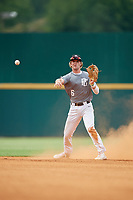 Alex Mooney (6) of Orchard Lake St. Mary's Preparatory School in Rochester Hills, MI during the Perfect Game National Showcase at Hoover Metropolitan Stadium on June 17, 2020 in Hoover, Alabama. (Mike Janes/Four Seam Images)
