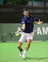 Rotterdam, Netherlands, 10 februari, 2018, Ahoy, Tennis, ABNAMROWTT,  Supermatch semifinal: Jesse Timmermans (NED)<br /> Photo: Henk Koster/tennisimages.com