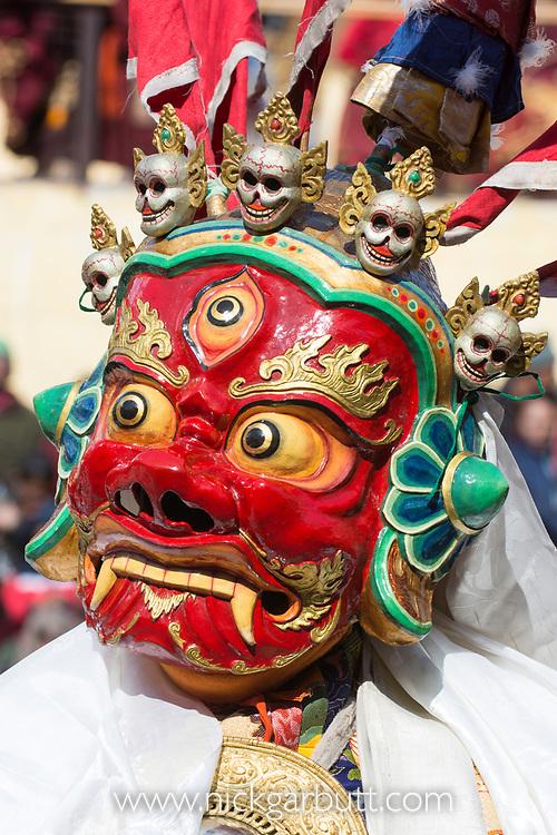Buddist Mask Festival. Liker Monastery, Liker, Ladakh, India. February.