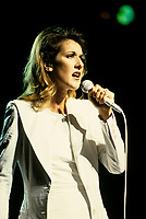 Montreal (Qc) CANADA - File Photo - 1997-<br /> <br /> Celine Dion Press in  concert at the Montreal Molson Centre.<br /> <br /> -Photo (c)  Images Distribution