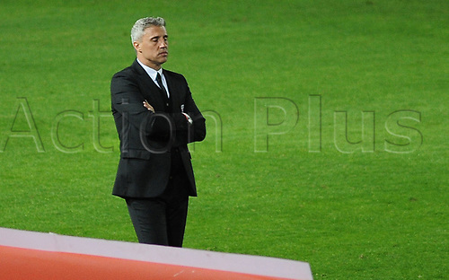 20th July 2021; Buenos Aires, Argentina;  Coach Hernán Crespo of São Paulo, during the match between Racing and São Paulo, for the Libertadores 2021 Round of 16, at Estádio Presidente Perón