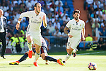 "Real Madrid's player Gareth Bale and Francisco Roman ""Isco"" during a match of La Liga Santander at Santiago Bernabeu Stadium in Madrid. October 02, Spain. 2016. (ALTERPHOTOS/BorjaB.Hojas)"