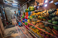 Nilar, Plastic Rope Factory, Taungoo, Myanmar, 2016<br />