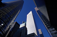 New York City, Citigroup Center and office buildings