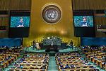 General Assembly Seventy-fourth session, 5th plenary meeting<br /> <br /> Her Excellency Kersti Kaljulaid, President, Republic of Estonia