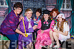 Wardrobe ladies Eilish Coakley and Breda Roche are measuring up the Marian Players cast for their upcoming Panto The Old Woman Who Lived in the Shoe which will be opening on the 25th January  l-r: Eilish Coakley, Shane Dillane, Breda Roche, Eimear Nagle, David O'Connor and Eabha Healy