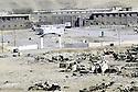 Irak 1991 La garnison de Rowanduz in ruines Iraq 1991 Rowanduz garrison in ruins