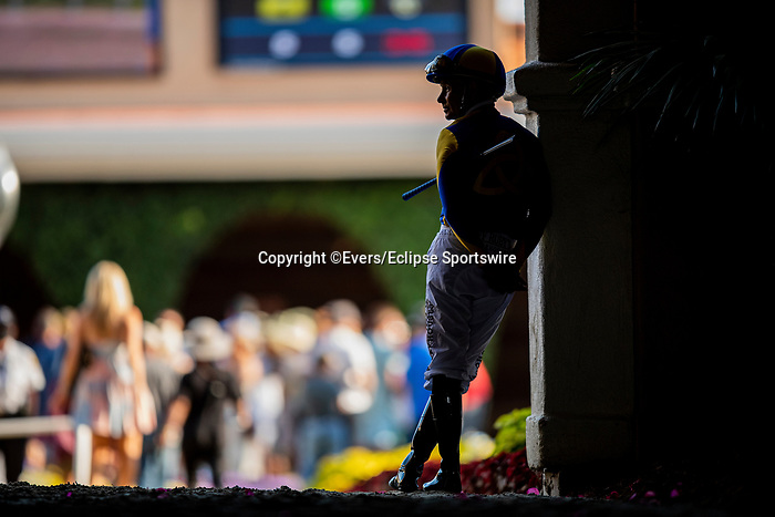 JULY 18, 2021: Mike Smith at Del Mar Fairgrounds in Del Mar, California on July 18, 2021. Evers/Eclipse Sportswire/CSM