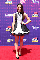 LOS ANGELES - APR 29:  Megan Nicole at the 2016 Radio Disney Music Awards at the Microsoft Theater on April 29, 2016 in Los Angeles, CA