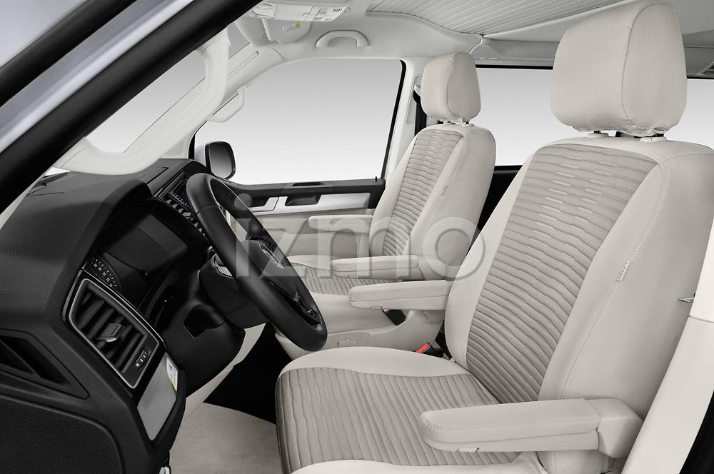 Front seat view of a 2018 Volkswagen California Ocean 4 Door Passenger Van front seat car photos