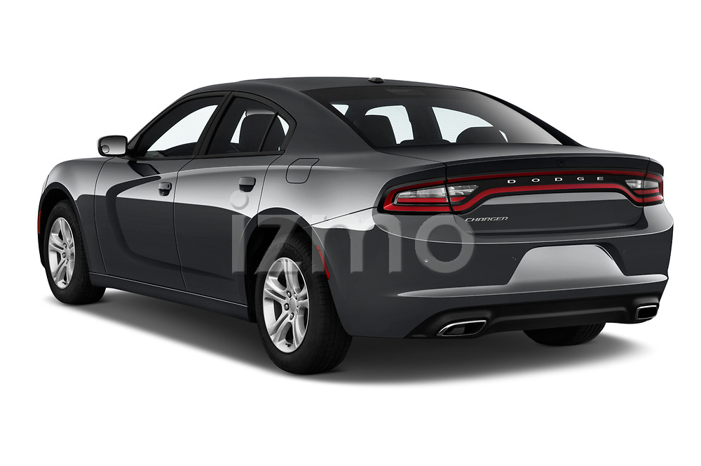 Car pictures of rear three quarter view of a 2019 Dodge Charger SXT 4 Door Sedan angular rear