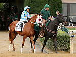 October 13,, 2021: California Angel #2, ridden by jockey Rafael Bejarano wins the JP Morgan Chase Jessamine Stakes (Grade 2) on the turf in a photo finish with Diamond Wow #14 and Turnerloose #3 at Keeneland Racecourse in Lexington, KY on October 13, 2021.  Candice Chavez/ESW/CSM