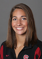 STANFORD, CA - OCTOBER 28:  Megan Hansley of the Stanford Cardinal synchronized swimming team poses for a headshot on October 28, 2009 in Stanford, California.