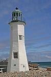 The Scituate Lighthouse; Cedar Point; Scituate; MA; U.S.