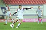 Paddy Jackson.Celtic League.Scarlets v Ulster.Parc y Scarlets.02.12.12..©Steve Pope