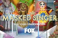 WEST HOLLYWOOD, CA - MAY 26: For Your Consideration: Fan-favorite costumes from THE MASKED SINGER on display at 8480 Melrose Place in West Hollywood from 5/26-5/30. Created by Emmy Award-winning Costume Designer Marina Toybina, works on display include Sun, Mushroom, Russian Dolls, Chameleon and Seashell. (Photo by Frank Micelotta/FOX/PictureGroup)