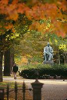 Commonwealth Avenue, Garrison statue, Boston, MA