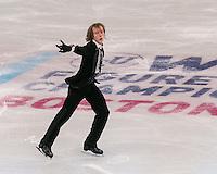 Boston, Massachusetts - March 30, 2016: ISU World Figure Skating Championships Boston 2016 - Men, at TD Garden.