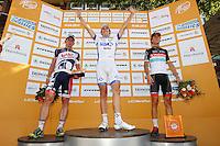 HAMBURGO, ALEMANHA, 19 AGOSTO 2012 - CICLISMO - UCI WORLD TOUR - O ciclista frances Arnaud Demare vence a da etapa da cidade de Hambrugo do UCI World Tour, na Alemanha, neste domingo, 19. (FOTO: PIXATHLON / BRAZIL PHOTO PRESS).