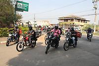 10/09/2020 - MOTOCICLISTA MORTO EM OBRA DO BRT RECEBE HOMENAGEM NO VELÓRIO