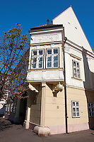 1620 Altabak House - Baroque with 18th century protruding balconies - ( Gy?r )  Gyor Hungary