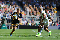 Jimmy Gopperth of Wasps accelerates in space during the Premiership Rugby Final at Twickenham Stadium on Saturday 27th May 2017 (Photo by Rob Munro)