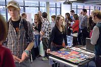 Portfolio Day at University College for the Creative Arts, Farnham..