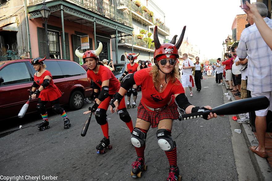 Festival San Fermin, Running of the Bulls in New Orleans
