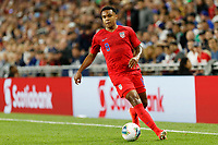 St. Paul, MN - Tuesday June 18, 2019: Weston McKennie of the United States during a 2019 CONCACAF Gold Cup group D match between the United States and Guyana on June 18, 2019 at Allianz Field in Saint Paul, Minnesota.