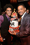 DJ Ace (Trey Smith) celebrates his 21st Birthday with his father, Will Smith at Lavo Las Vegas, Las Vegas NV, Sunday, November 10, 2013 (Photo by Al Powers/Powers Imagery/Invision/AP)