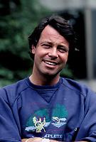 EXCLUSIVE FILE PHOTO -   l'humoriste francais Michel Leeb en 1988<br /> <br /> <br /> PHOTO :   Agence quebec Presse