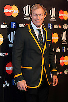 Schalk Burger of South Africa at the World Rugby Awards 2015  - 01/11/2015 - Battersea Evolution, London<br /> Mandatory Credit: Rob Munro/Stewart Communications