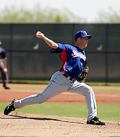 Michael Main - Texas Rangers 2009 Instructional League.Photo by:  Bill Mitchell/Four Seam Images..
