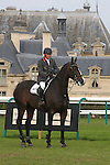 International Jumping in Chantilly France.John Withaker (GBR). Several times european & world champion. 2 place riding Casino