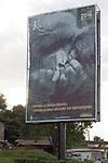Tiurism Billboard With Image Of Gorilla's