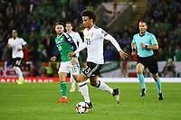 Leroy Sane (Deutschland Germany) - 05.10.2017: Nordirland vs. Deutschland, WM-Qualifikation Spiel 9, Windsor Park Belfast