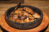 Bali, Indonesia.  Balinese Chicken Dinner.