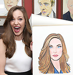 Laura Osnes - Sardi's portrait unveiling