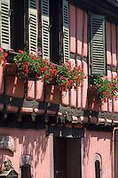 Europe/France/Alsace/68/Haut-Rhin/Niedermorschwihr : Maison de vigneron