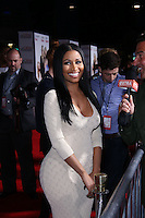 """WESTWOOD, LOS ANGELES, CA, USA - APRIL 21: Nicki Minaj arrives at the Los Angeles Premiere Of Twentieth Century Fox's """"The Other Woman"""" held at the Regency Village Theatre on April 21, 2014 in Westwood, Los Angeles, California, United States. (Photo by David Acosta/Celebrity Monitor)"""