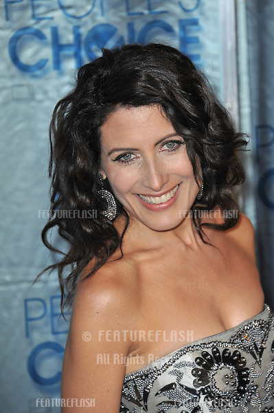 Lisa Edelstein at the 2011 Peoples' Choice Awards at the Nokia Theatre L.A. Live in downtown Los Angeles..January 5, 2011  Los Angeles, CA.Picture: Paul Smith / Featureflash