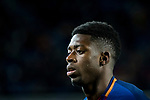 Ousmane Dembele of FC Barcelona looks on during the Copa Del Rey 2017-18 Round of 16 (2nd leg) match between FC Barcelona and RC Celta de Vigo at Camp Nou on 11 January 2018 in Barcelona, Spain. Photo by Vicens Gimenez / Power Sport Images